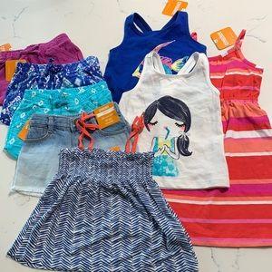 Gymboree Girls' 8-Piece Lot Sz18-24M Summer NWT